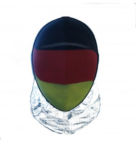 Maske Inox mit leitendem Latz für Florett (V4A) FIE 1600  COMFORT, Deutschland