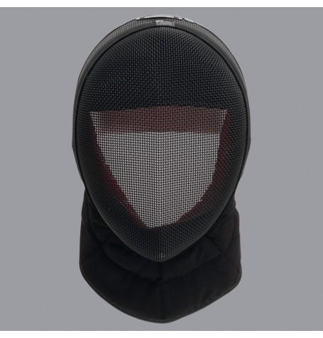 Fechtmeister Maske 1600N, schwarz inox