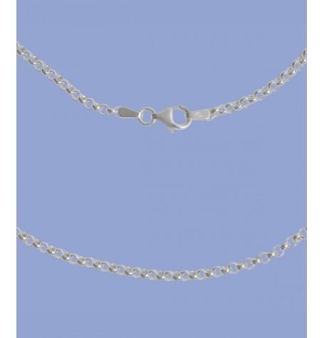 Silber-Kette 80 cm