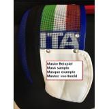 Masken mit  Nationalitätenkennung